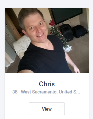 Christopher Rose — Sacramento, California