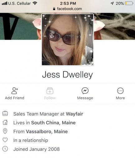 Jessica Dwelley — Let me tell you about THIS piece of trash..