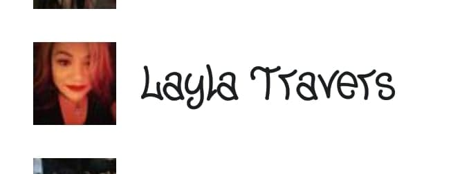 Layla Travers  — This woman claims to never date or fool around with another woman's man..she's a lying skank.