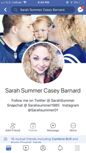 Sarah Summer Casey Barnard — Mother of young girl cons married man for money