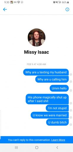 Missy issac — Shes a hoe
