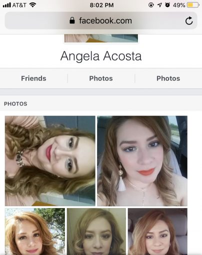 ANGELA ACOSTA — After 3!yrs she can't back off