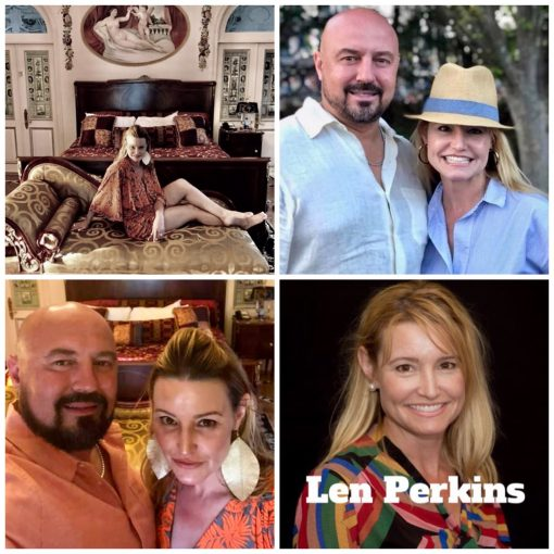 Len McGregor Perkins Second marriage and still sleeping with married men